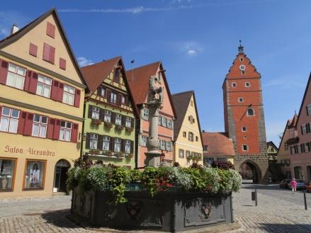 Pueblos de cuento en la Ruta Romántica: Nördlingen, Dinkelsbühl y Rothenburg ob der Tauber